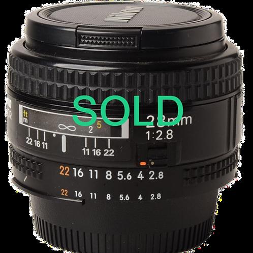 Nikon 28mm F2.8 AF