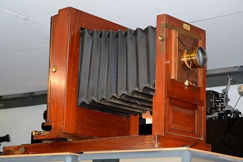 Large Wooden Studio Camera