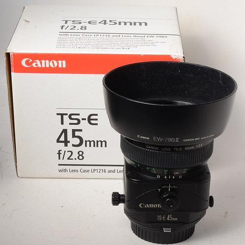 Canon 45mm f2.8 TS-E