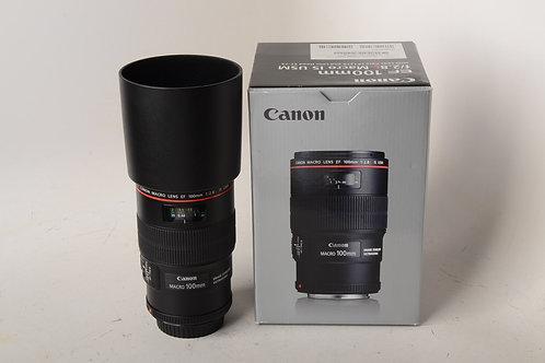 Canon 100mm f2.8 L IS Macro