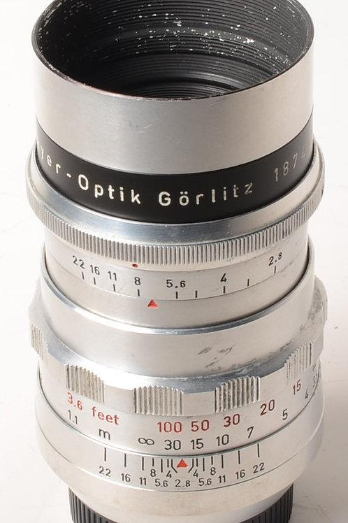 Meyer-Optik Gorlitz 100mm f2.8 Trioplan m42