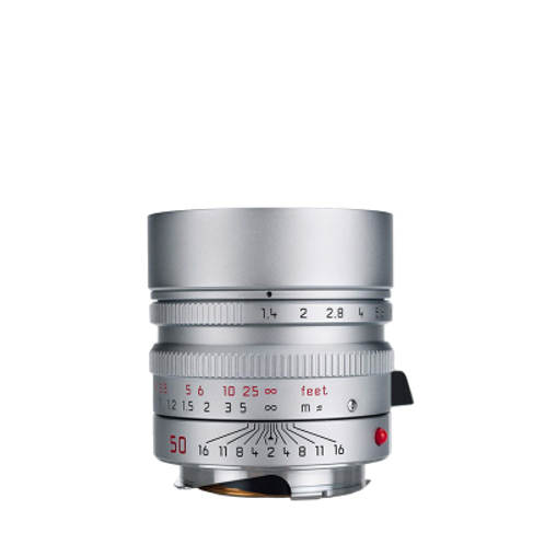 Leica 50mm f1.4 ASPH. Summilux - Silver Chrome