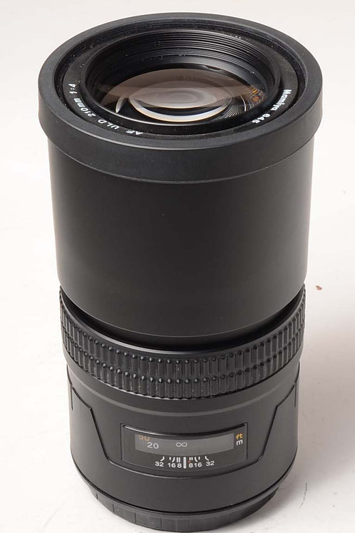 Mamiya 210mm f4 AF ULD