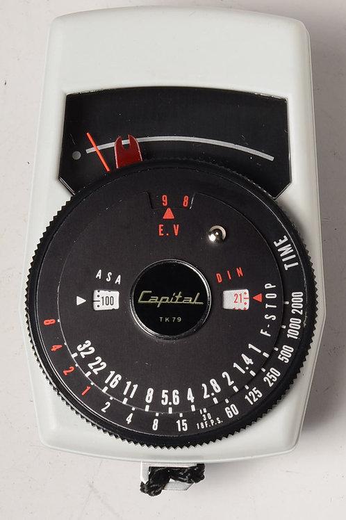 Capital TK79 Light meter