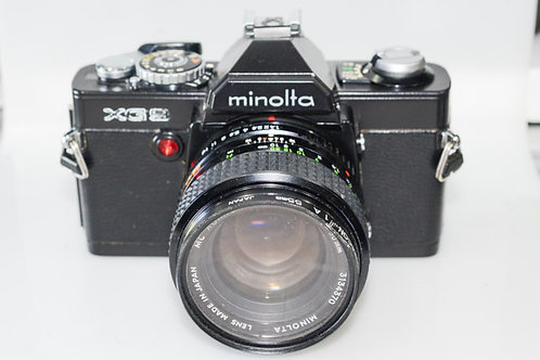 Minolta XG9 & 50/1.4 lens