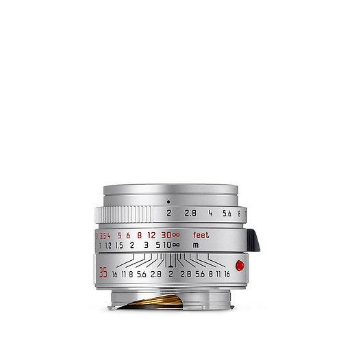 Leica 35mm f2 ASPH. Summicron - Silver