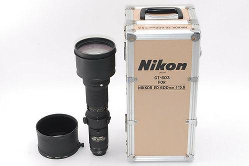 Nikon 600/5.6 ED-IF super-tele lens