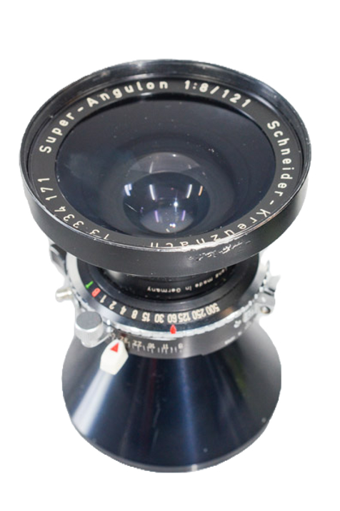 Schneider 121/8 wide angle for 5x7