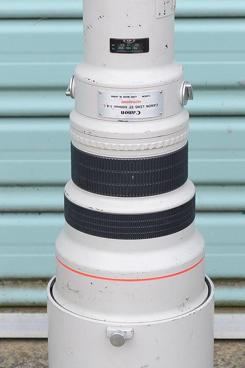 Canon EF 600mm F4L Telephoto lens