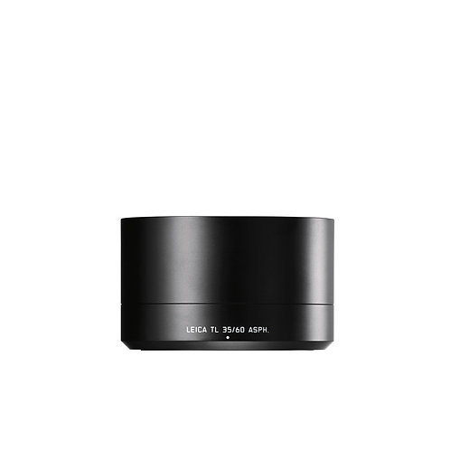 Leica Lens hood for TL 35mm f1.4 & 60mm f2.8 black anodised
