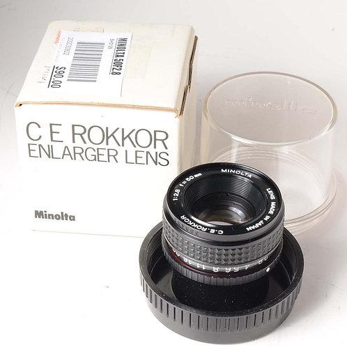 Minolta 50mm f2.8 Enlarger Lens