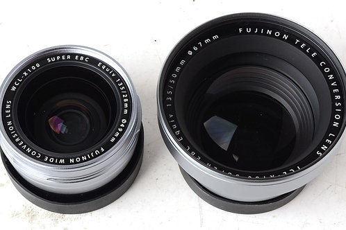 Fuji Conversion lenses for X100