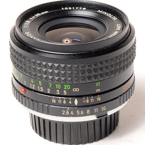 Minolta MC 35mm f2.8
