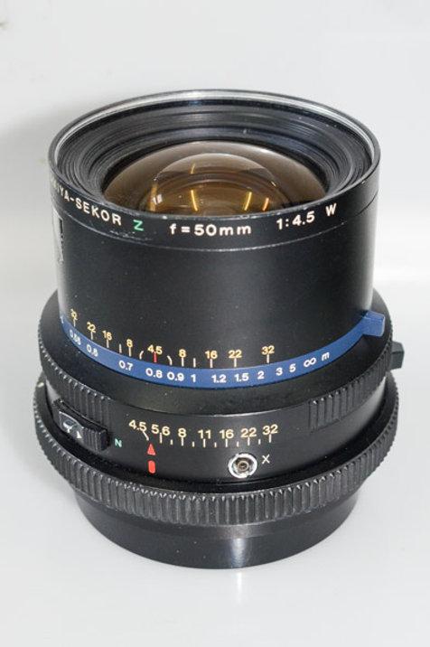 50/4.5 lens for RZ67