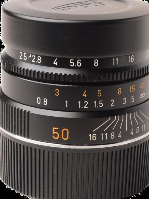 Leica 50mm F2.5 M