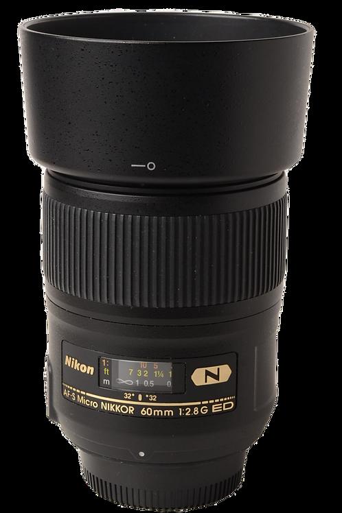 Nikon 60mm F2.8 G AFS