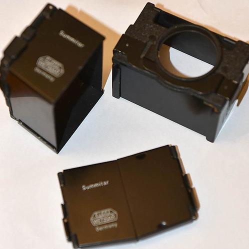 Leica SOOPD folding lens hood for 50/2 Summitar lens