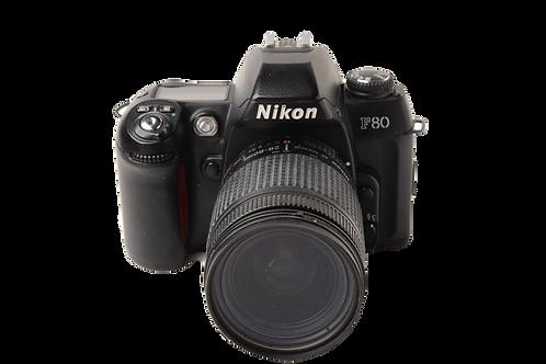 Nikon F80 with 28-80