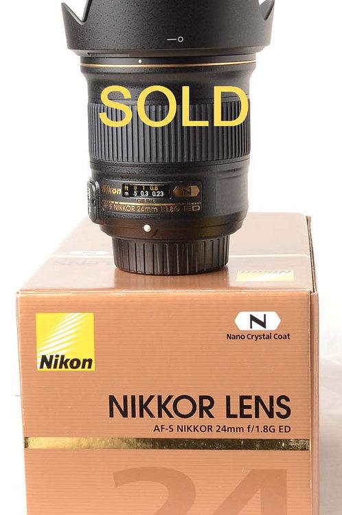 Nikon 24mm F1.8G