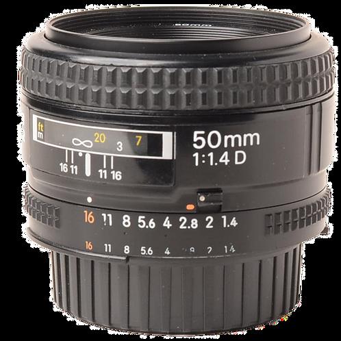 Nikon 50mm F1.4 AFD