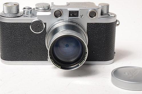 Leica IIF & 50mm F2