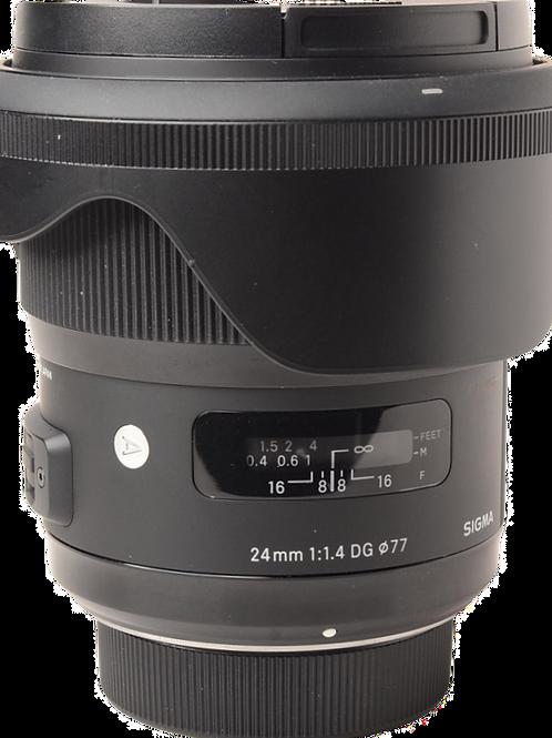 Sigma 24mm F1.4 ART