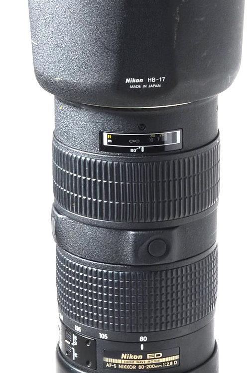 Nikon 80-200 F2.8 AFS D