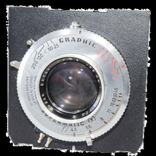 Kodak-Graflex 152/4.5 Ektar lens
