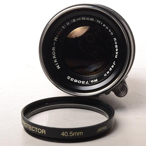 Nikon 5cm F2