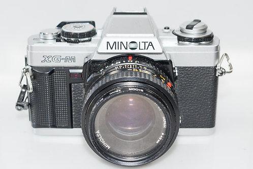 Minolta XG-m & 50/1.7