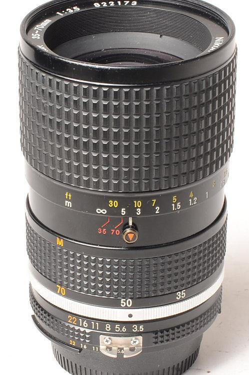 Nikon 35-70mm f3.5 Ais