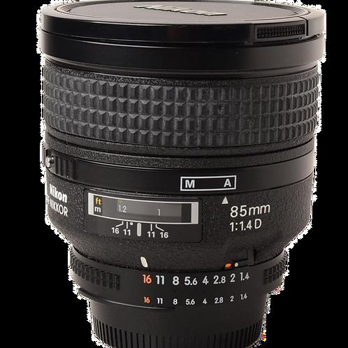 Nikon 85mm F1.4D