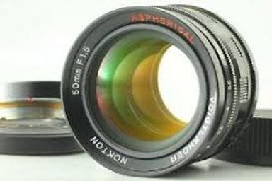Voigtlander 50mm F1.5 LTM