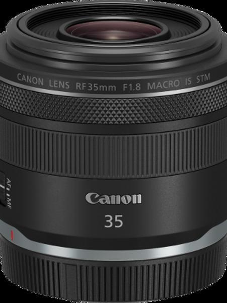 Canon RF 35mm f1.8 IS STM lens