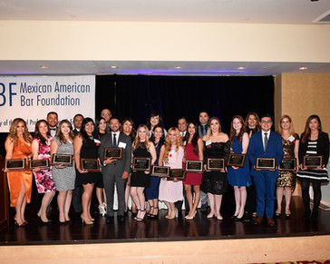Photo of individulas who attended fundraising gala