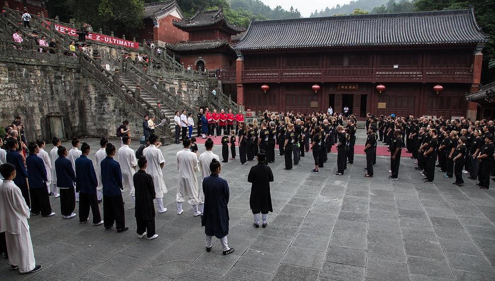 Group at Wudang Mountain.JPG
