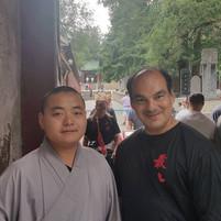 Wudang Monk & Master Christopher Diaz