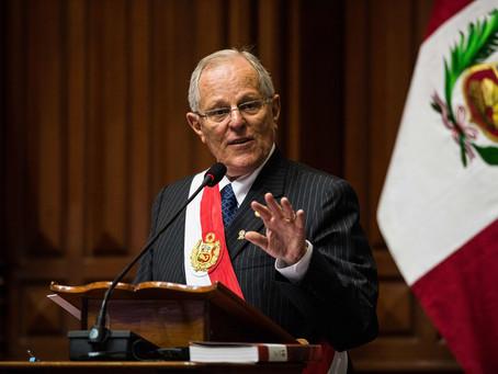 Renuncia el presidente de Perú Pedro Pablo Kuczynski
