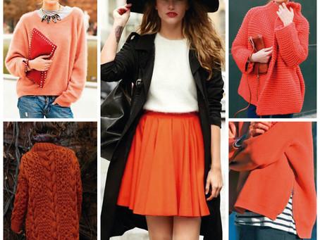 Los colores para este invierno.
