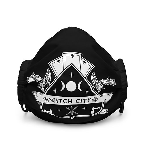 Witch City Face Mask
