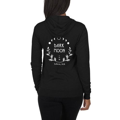 Dark Moon Unisex zip hoodie