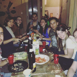 A Dinner Party Abroad