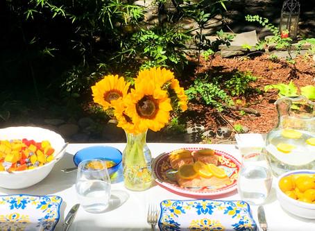 15 Minute Garden Lunch