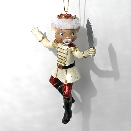 Nutcracker Suite Ornament - Mouse King