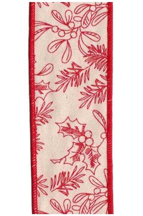 Red Mistletoe & Pine
