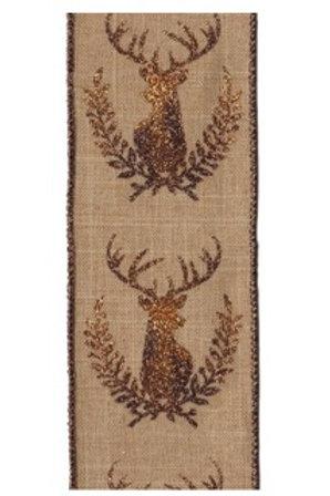 Copper Deer on Natural