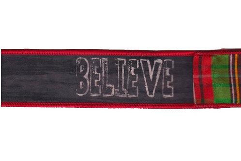 Believe Ribbon - Double Sided
