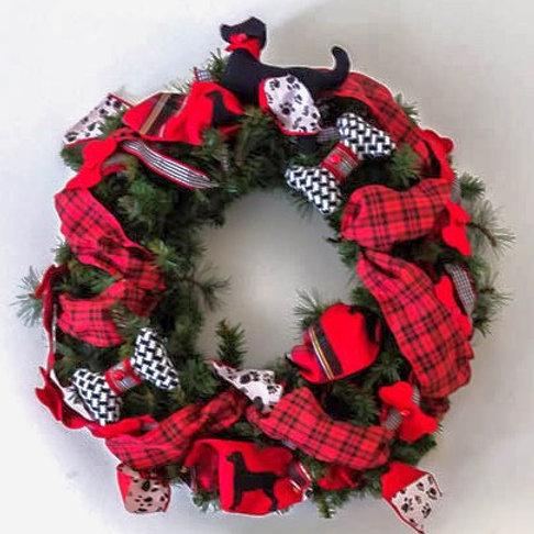Divine Doggie Wreath