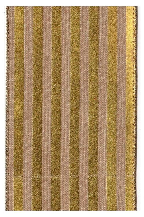 Metallic Gold Stripe