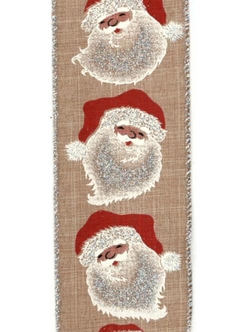 Santa on Natural